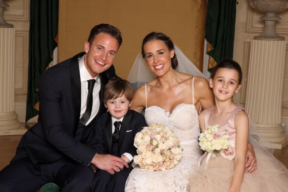 Gary Lucy with family